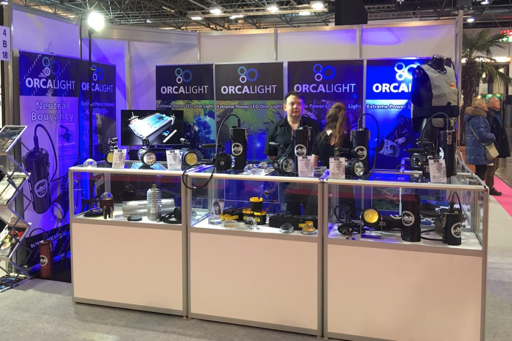 Orcalight at BOOT show  4B18
